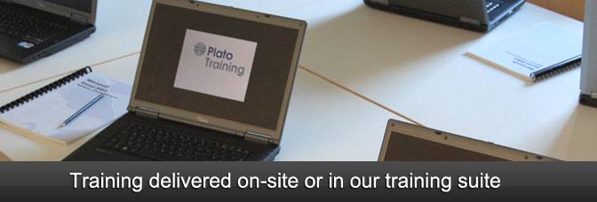 Training delivered on-site or in our training suite.